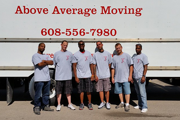 Movers in Madison WI Next to Truck